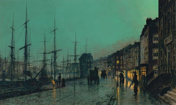 Art, Artwork, John Atkinson Grimshaw