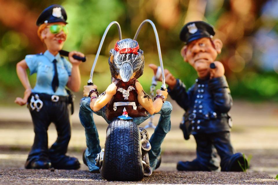 Rowerzysta Policji Kontroli Darmowe Zdjęcie Na Pixabay