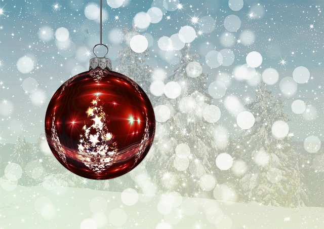 kostenlose illustration weihnachten christbaumkugel