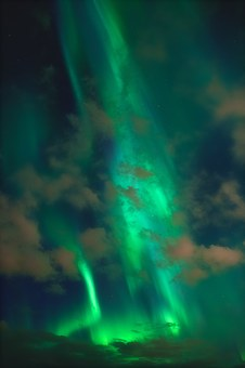 Northern Lights, Aurora Borealis, Plasma