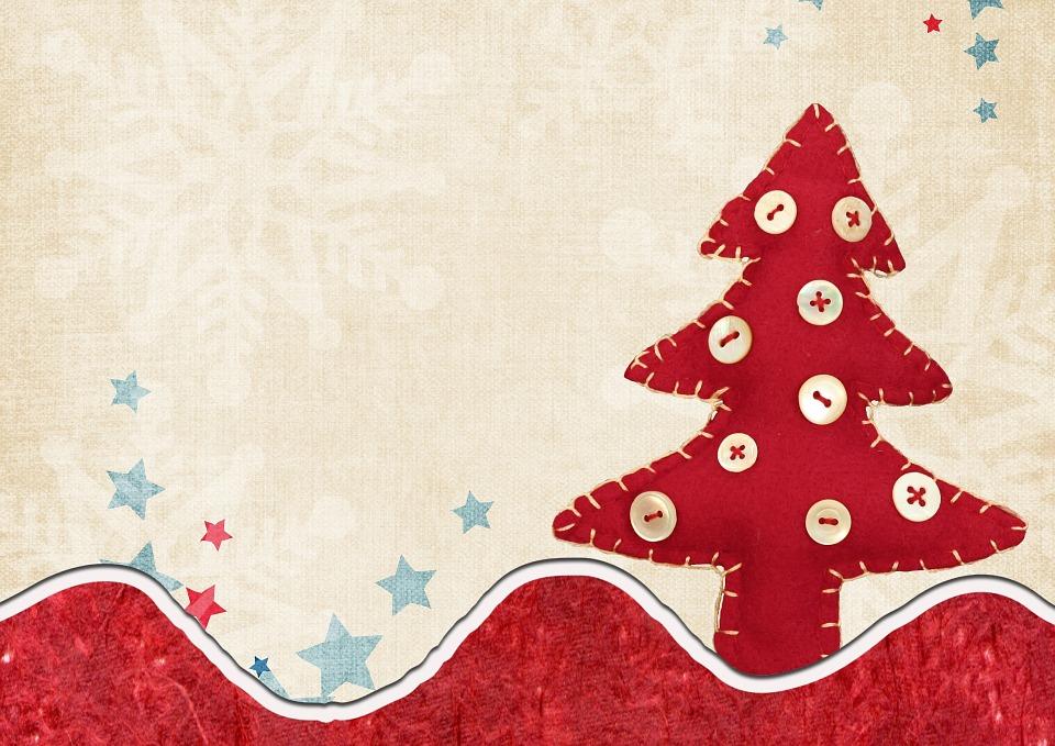 Illustration gratuite arbre de no l carte d coration - Decoration arbre de noel ...