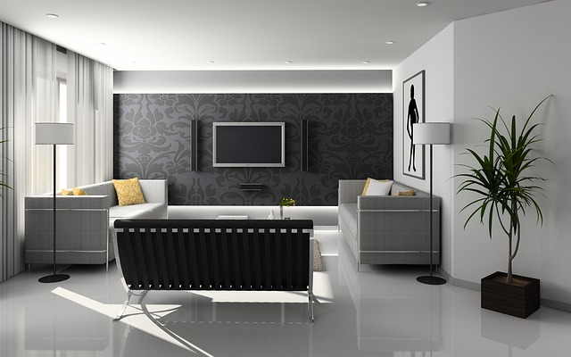 Free photo livingroom interior design free image on for Carrelage de salon moderne