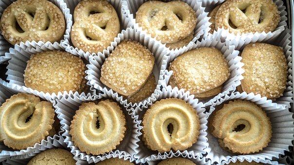 Danish Butter Cookies, Cookies, Butter