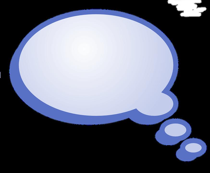 Image Bulle bleu bulle texte · image gratuite sur pixabay