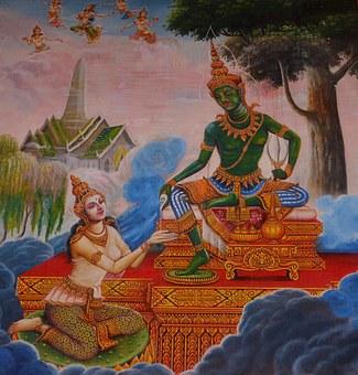 Lakshmi, India, Buddha, Hinduism