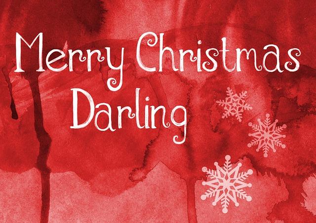 merry christmas greeting card free image on pixabay
