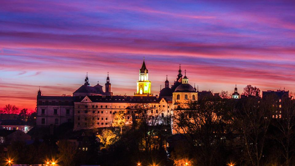 Lublin, Zamek, Zachód, Polska, Zabytek, Lubelskie
