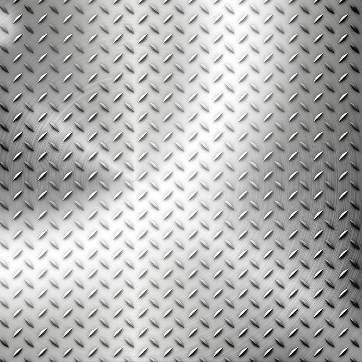 Free Illustration Plate Diamond Texture Metallic
