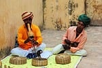 india, snake, music