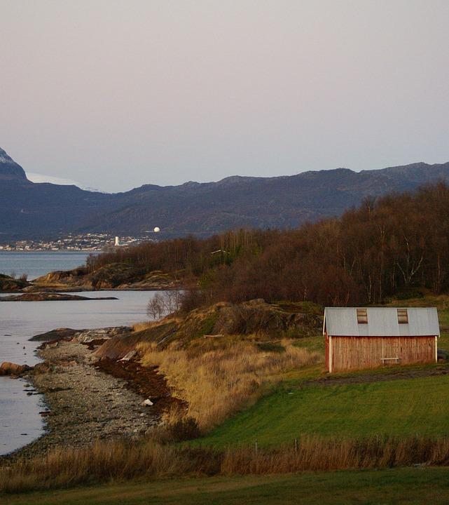Ytterseines, Narvik, Jesień