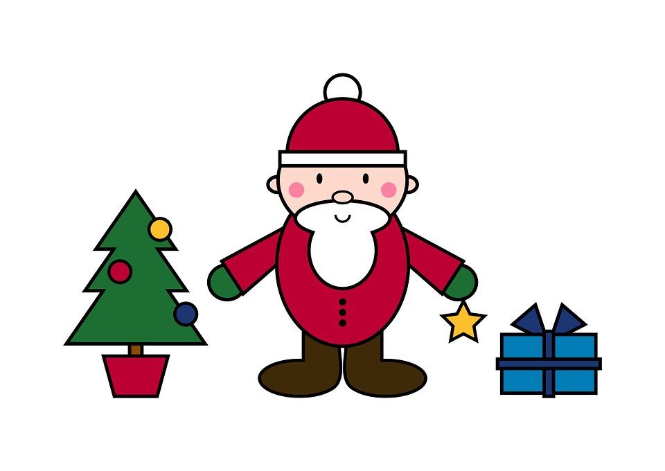 weihnachtsmann weihnachten figur kostenloses bild auf. Black Bedroom Furniture Sets. Home Design Ideas