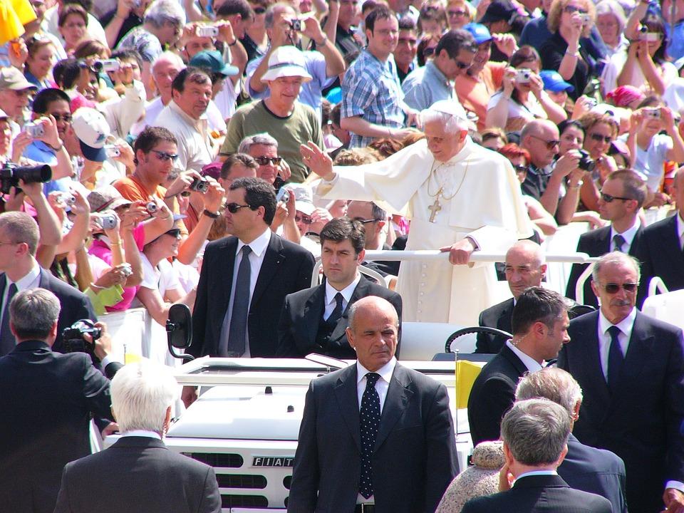 Roma, Itália, Papa, Religião, Praça De São Pedro