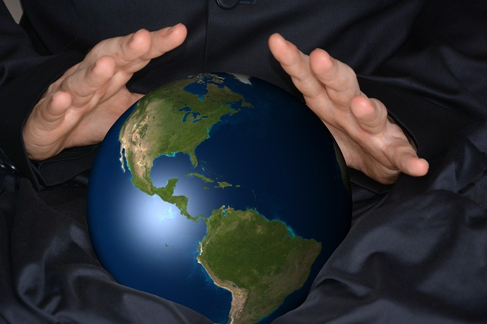 Selvänäkijä, Maapallo, Pallo, Istunto, Amerikka, Usa
