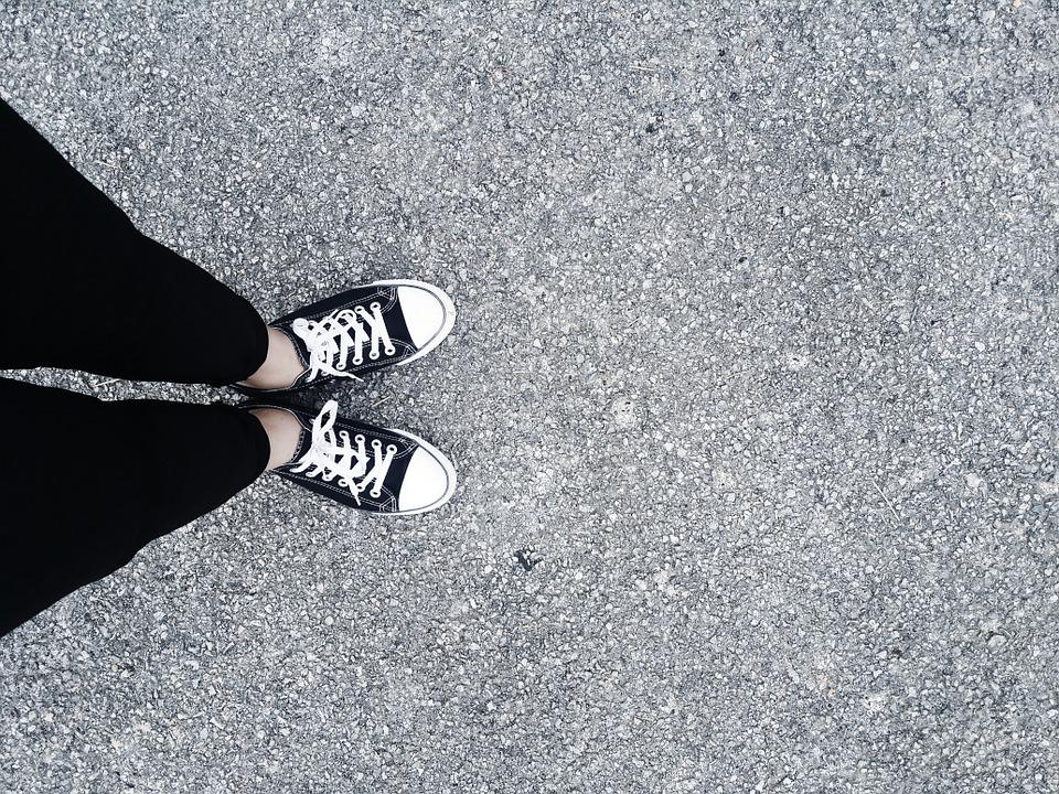 Converse Shoe Chart: Free photo: Road Converse Shoes Black Pants - Free Image on ,Chart