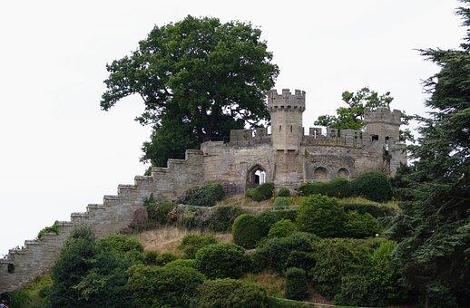 Castle, Warwick, England, Medieval