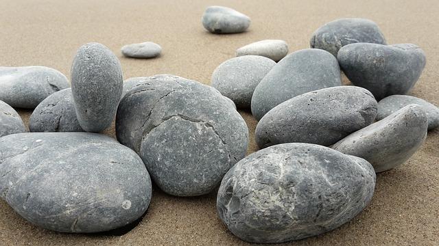 Basalt Stones Rocks : Free photo basalt stones sand rocks image on