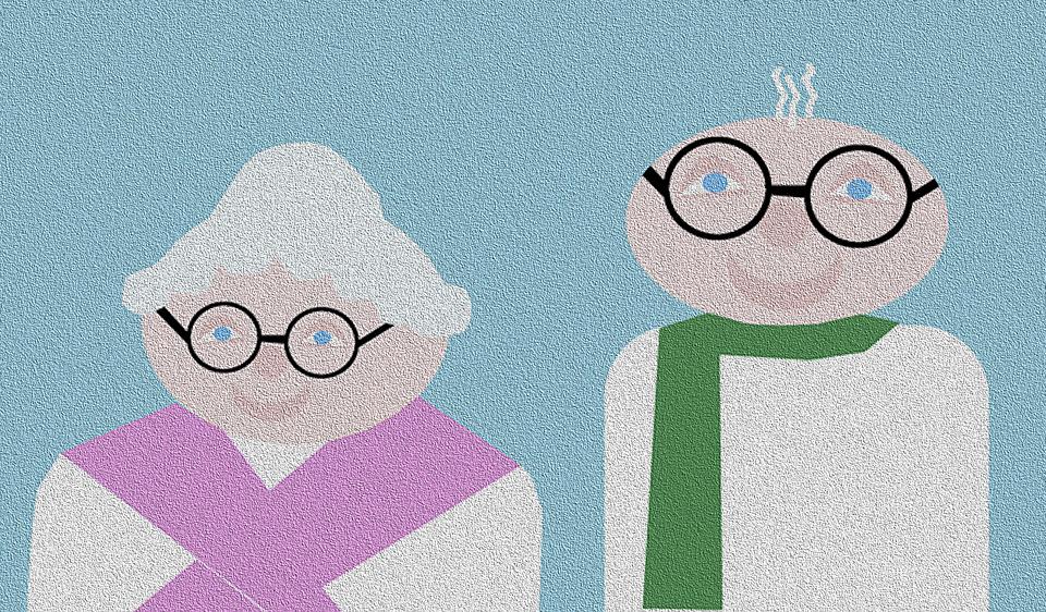 Grandma, Grandpa, Grandparents, Grandmother