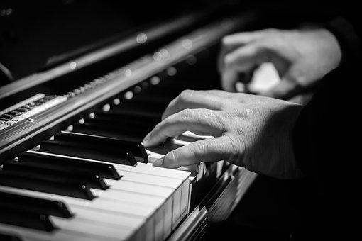 ピアノ, 手, ピアニスト, ピアノ鍵盤, 音楽, キー, 鍵盤楽器