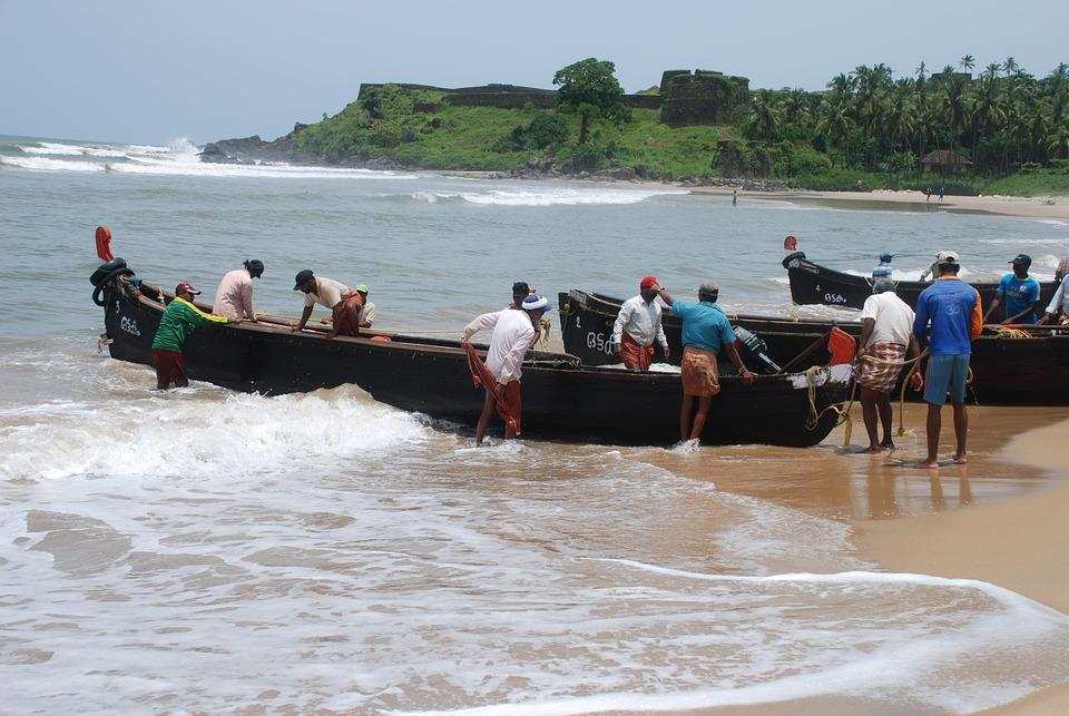 Kerala Fishermen Boats - Free photo on Pixabay