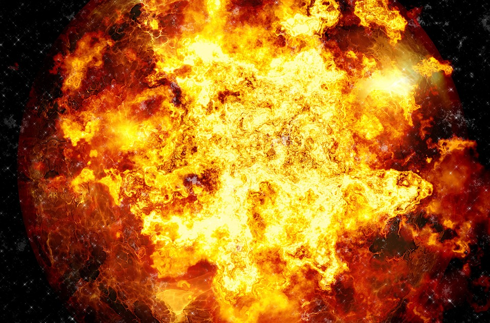 Free illustration: Explosion, Fire, Brand, Destroy - Free Image on ...