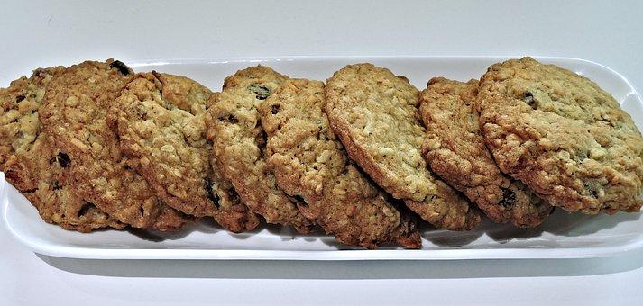 Gourmet Cookies, Oatmeal, Raisins