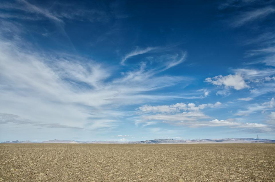 Free Photo Mongolia Desert Sky Clouds Free Image On