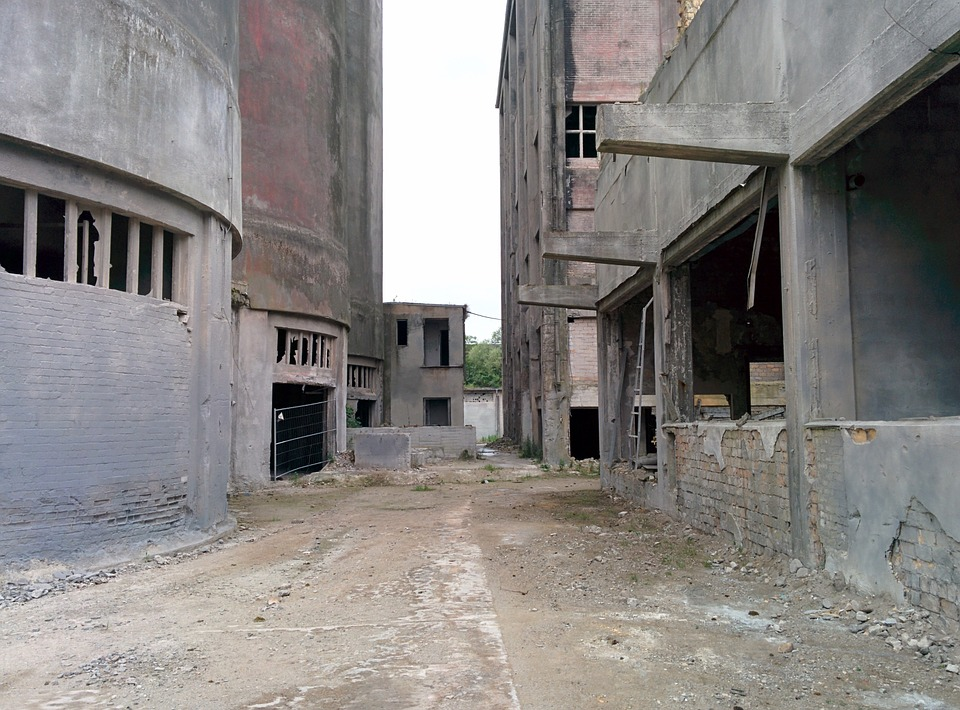 Industry, Factory Building, Ruin, Architecture, Factory