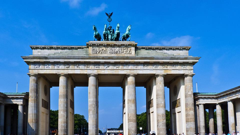 free photo brandenburg gate berlin summer free image