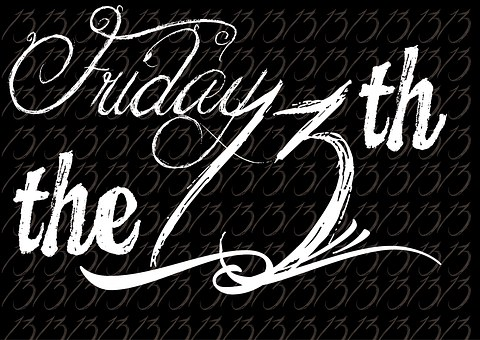 Friday The 13Th Wordpress Typography Word