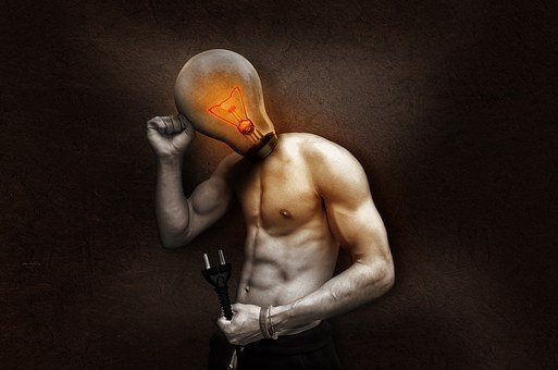 Light Bulb, Current, Light, Glow