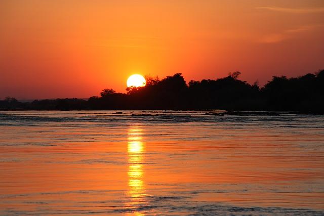 Free Photo African Sunset Nature Landscape Free