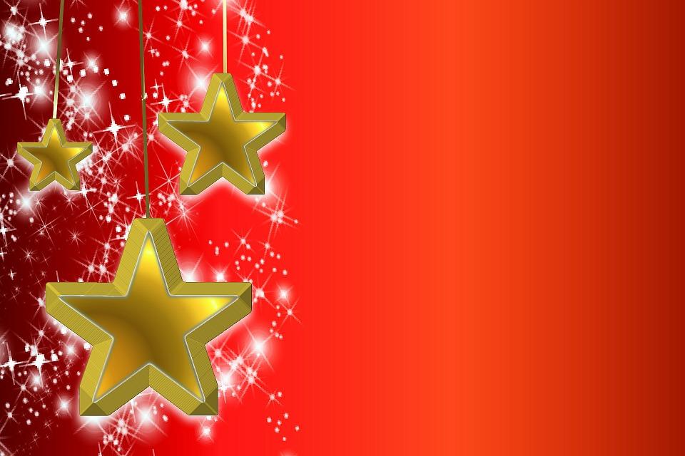 Árbol De Navidad Ilustración 2015 Ultra Hd Wallpapers: Ilustración Gratis: Estrella, Fondo, Navidad, Brillante