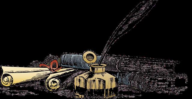 writing quill books transparent  u00b7 free image on pixabay