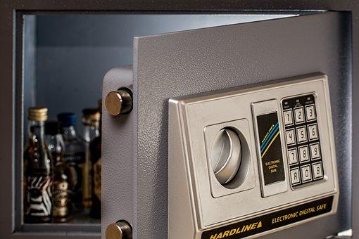 Wall Safe Digital Safe Secure Security Saf