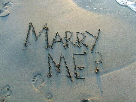Marry Me, Marriage Proposal, Question