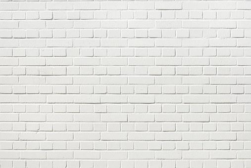 Bricks Wall White Brick Wall White Wh