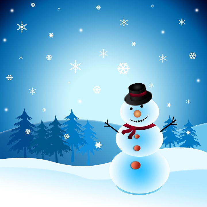 Free Illustration Winter Holiday Snowman Season