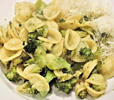 Pasta, Orecchiette, Broccoli, Acciughe