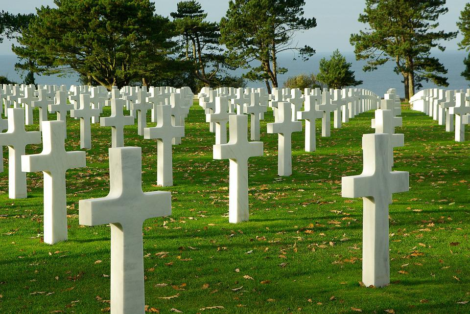 Normandy, D Day, Cemetery, Omaha Beach