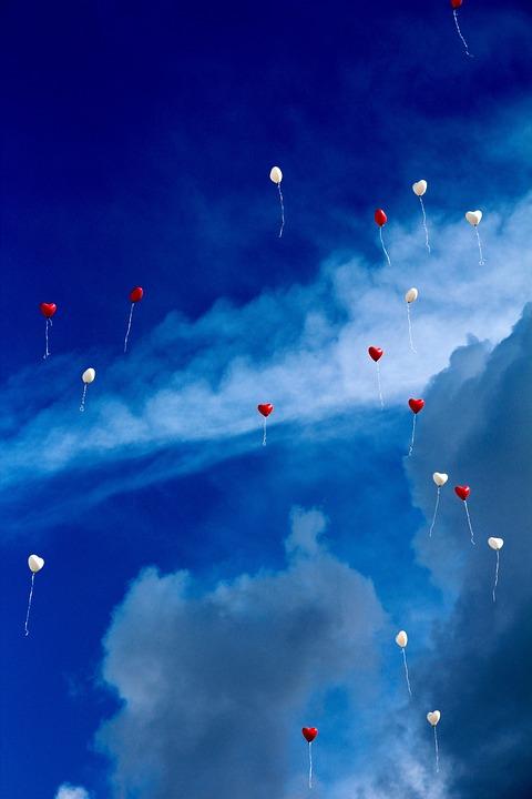 Balloon heart love free photo on pixabay - Love wallpaper photo gallery ...