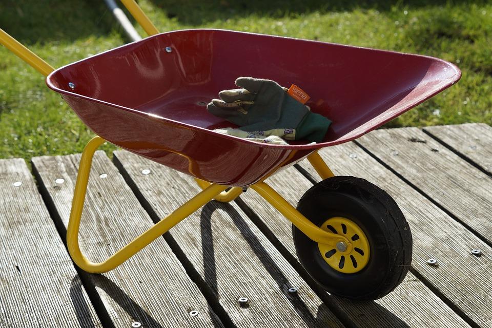Gardening, Children Toys, Wheelbarrow