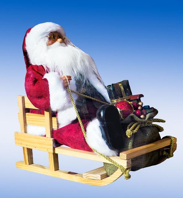 kostenloses foto weihnachtsmann schlitten kostenloses. Black Bedroom Furniture Sets. Home Design Ideas