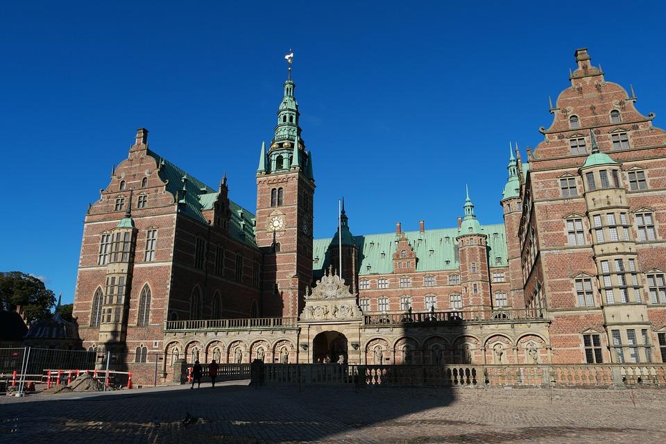 Schloss Frederiksborg Kostenloses Foto Auf Pixabay