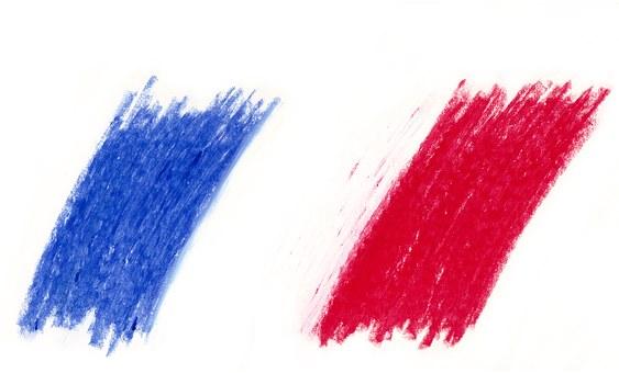 Drapeau, France, Tricolor