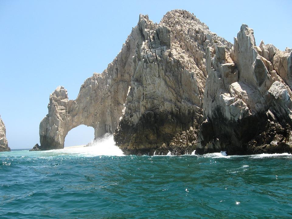 Land'S End, Los Cabos, Mexico, Ocean, Cabo, Lucas, San