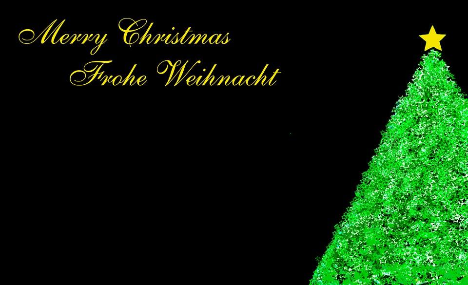 Árbol De Navidad Ilustración 2015 Ultra Hd Wallpapers: Ilustración Gratis: Navidad, Verde, Área, Negro, Fondo