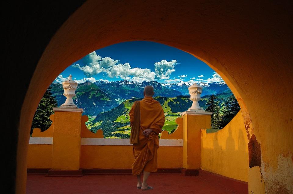 Boeddha, Meditatie, Rest, Boeddhisme, Geloof