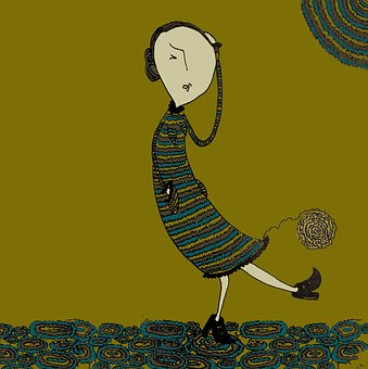 Femme Triste, Estime, Doute, Art