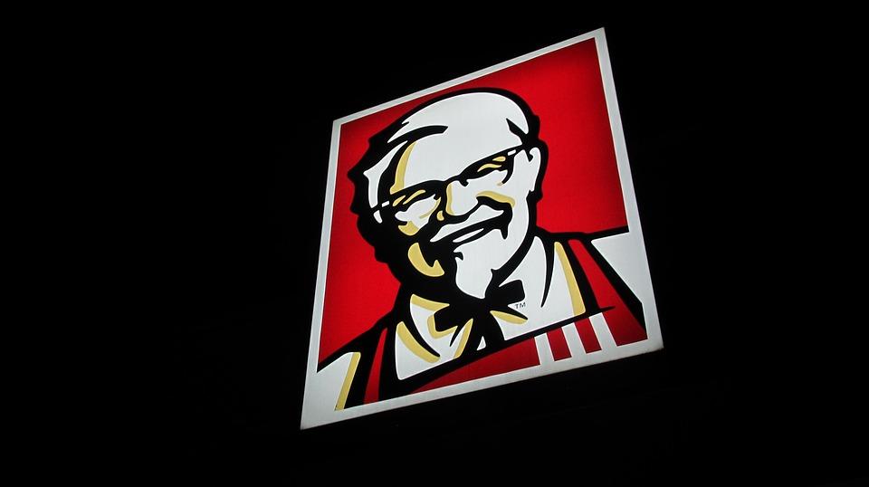 Poster, Kfc, Advertising, Neon Advertising, Fast Food