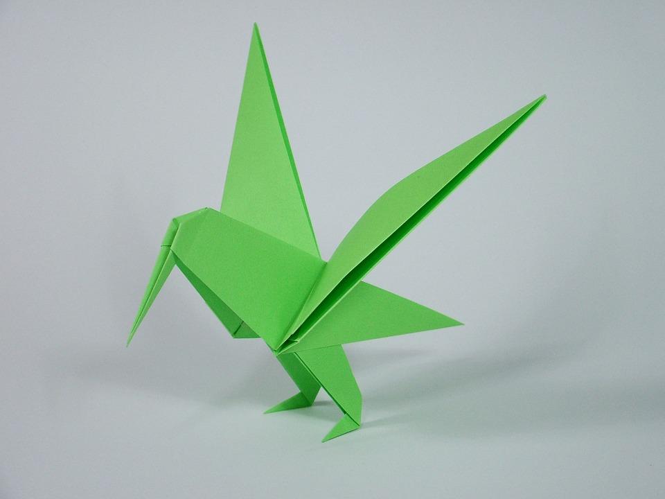 Origami Folding Free Photo On Pixabay